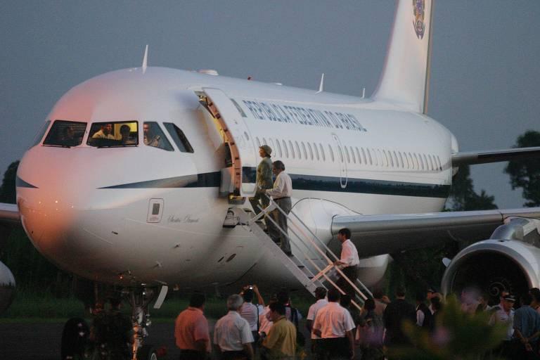 Aerolula, avião presidencial