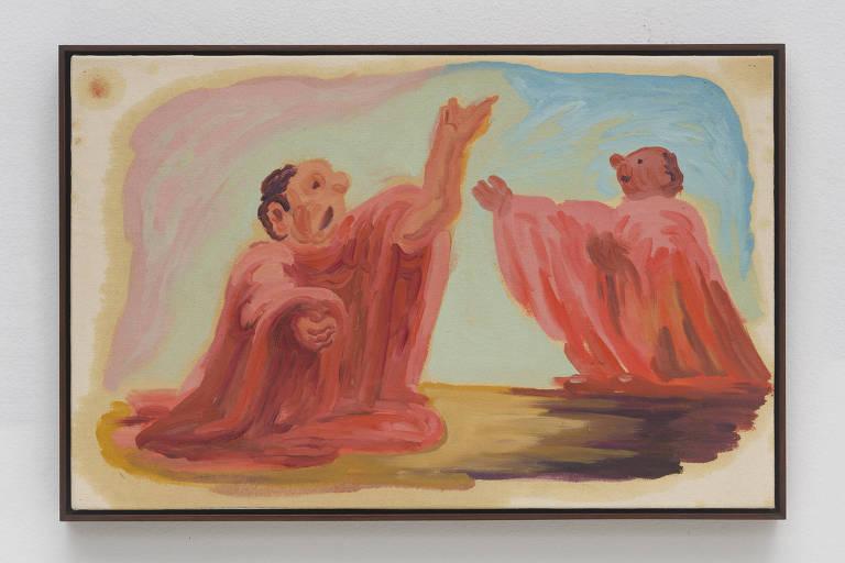pintura de homens discursando
