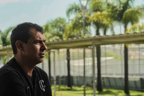 SÃO PAULO / SÃO PAULO / BRASIL -21 /01/19 - :00h - Entrevista com o técnico do Corinthians, Fabio Carille ( Foto: Karime Xavier / Folhapress) . ***EXCLUSIVO***ESPORTE