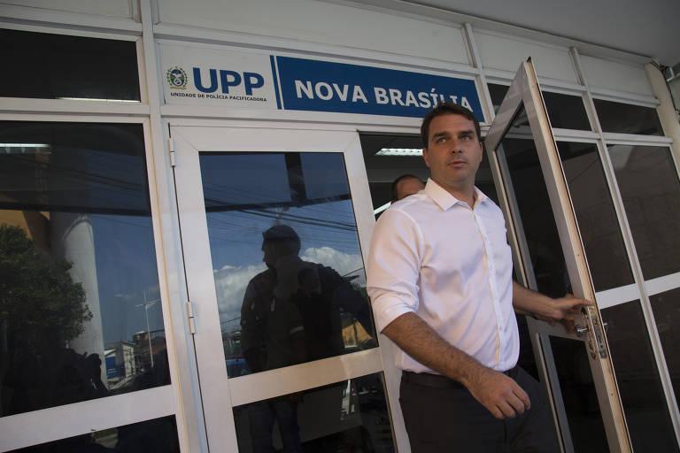 Este é Flávio Bolsonaro