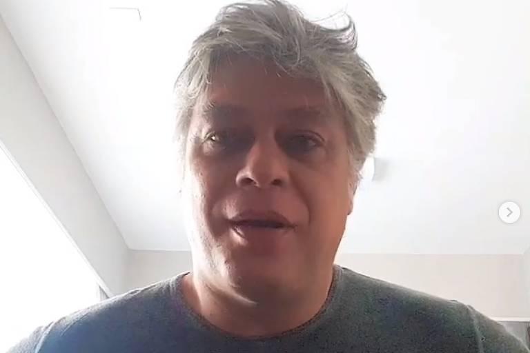 Em vídeo publicado no Instagram, Fábio Assunção anuncia acordo para doar dinheiro de música que leva seu nome