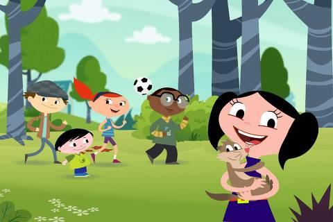 Show da Luna Luna é uma garota de seis anos que ama ciências e acredita que a Terra é um enorme laboratório em que ela pode descobrir diversas curiosidades. A cada episódio, uma dúvida é abordada ao lado de seu irmão mais novo, Júpiter, de quatro anos, e o furão de estimação da família, Cláudio. Origem: brasileira Canal: Discovery Kids Horário: segunda a sexta-feira, às 12h25 e às 19h30, entre outros horários