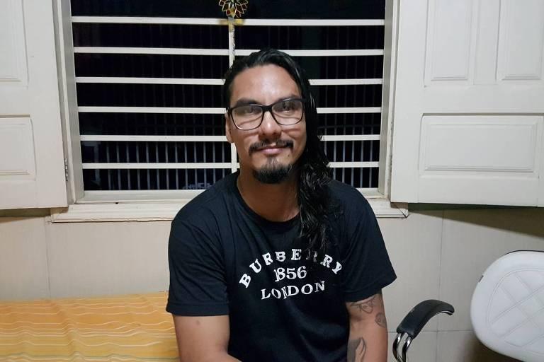 O acreano Vanderson, 35 anos, vai ser intimado pela polícia do Rio