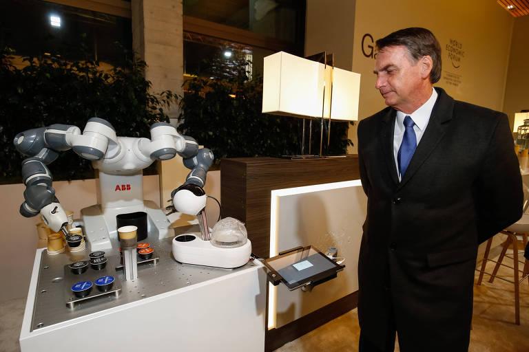 Bolsonaro em Davos