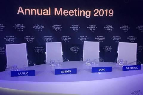 Bolsonaro cancela entrevista em Davos e culpa comportamento da imprensa