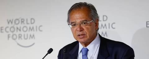 (Davos - Suíça, 23/01/2019) Palavras do Ministro de Estado da Economia, Paulo Guedes. Foto: Alan Santos/PR