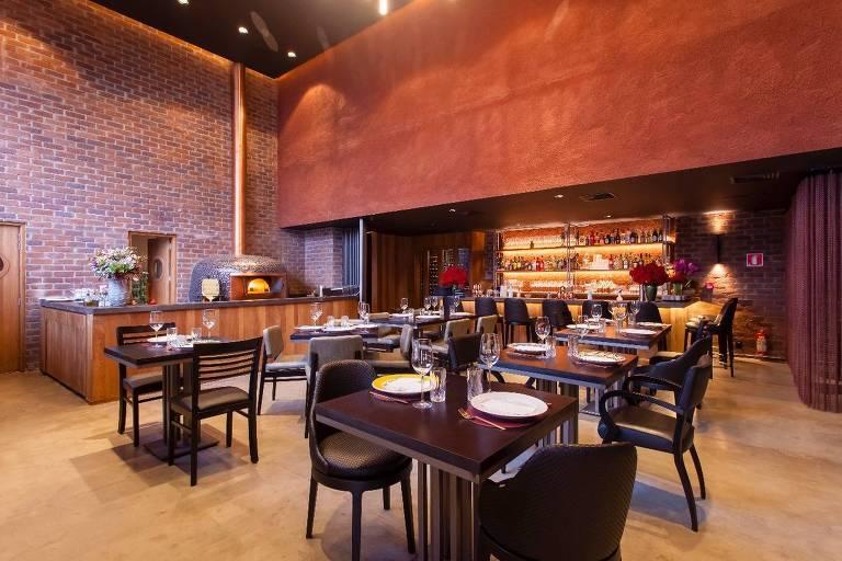 Ambiente do Geppetto Cucina, nova casa do chef Marcelo Mussi, no Itaim Bibi