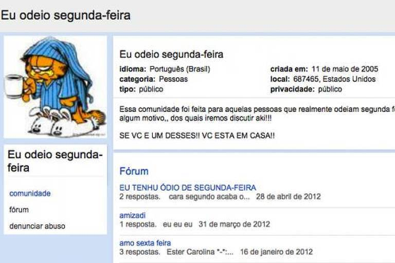 Relembre comunidades clássicas do Orkut