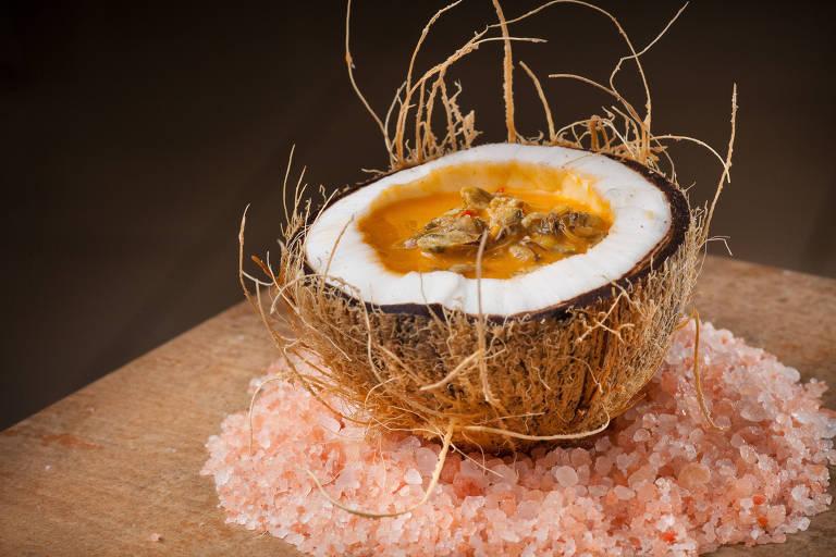 Sururu ao coco do restaurante Picuí