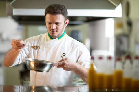 O chef Wanderson Medeiros, do Picuí