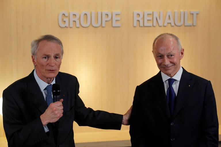 Executivos da Renault e da Michelin assumem lugar de Ghosn na montadora