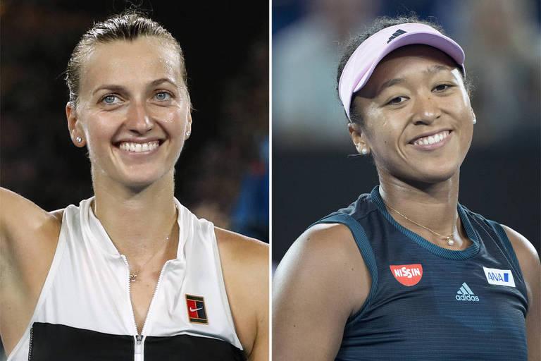 Final do Australian Open vale número 1 e muito mais para Kvitova e Osaka