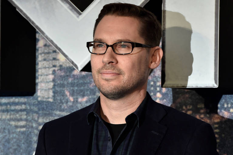 O diretor Byan Singer na estreia de 'X-Men: Apocalipse', em 2016