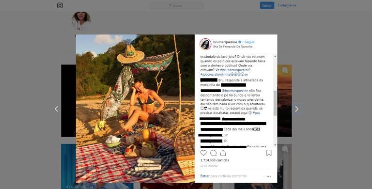 Bruna Marquezine é atacada por internautas