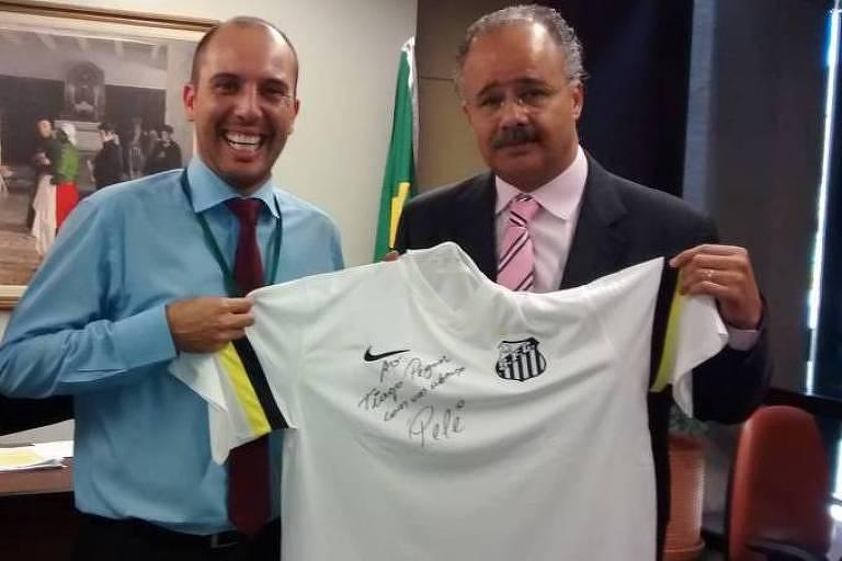 Tiago Pereira Gonçalves, que trabalhou com o deputado Vicente Cândido (PT-SP) antes de virar assessor no Planalto