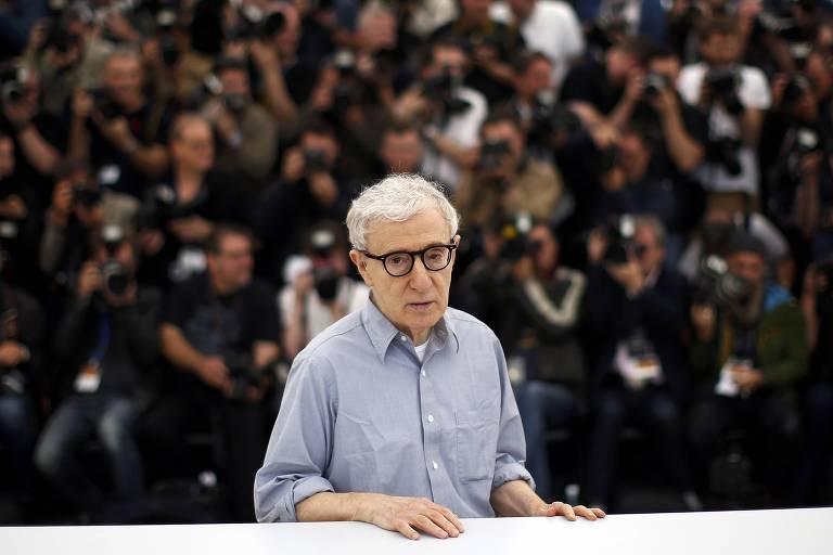 O diretor Woody Allen foi acusado pela filha, Dylan Farrow, de assédio sexual e abuso quando ela tinha 7 anos