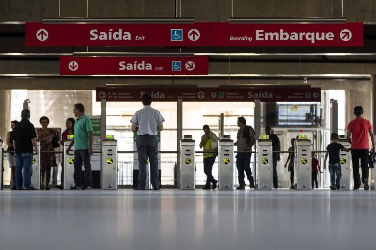 Governo prevê trem que liga CPTM ao aeroporto de Guarulhos em 2022