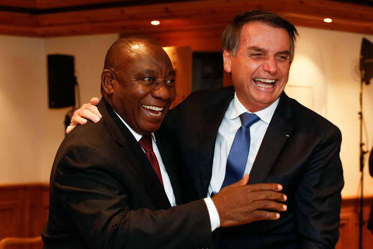 Em encontro em Davos, Bolsonaro privilegia países de menos peso comercial