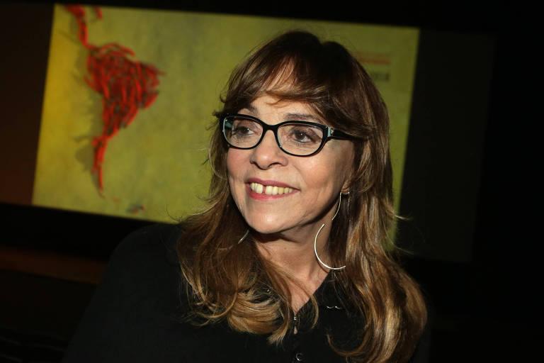 A autora de novelas Glória Perez