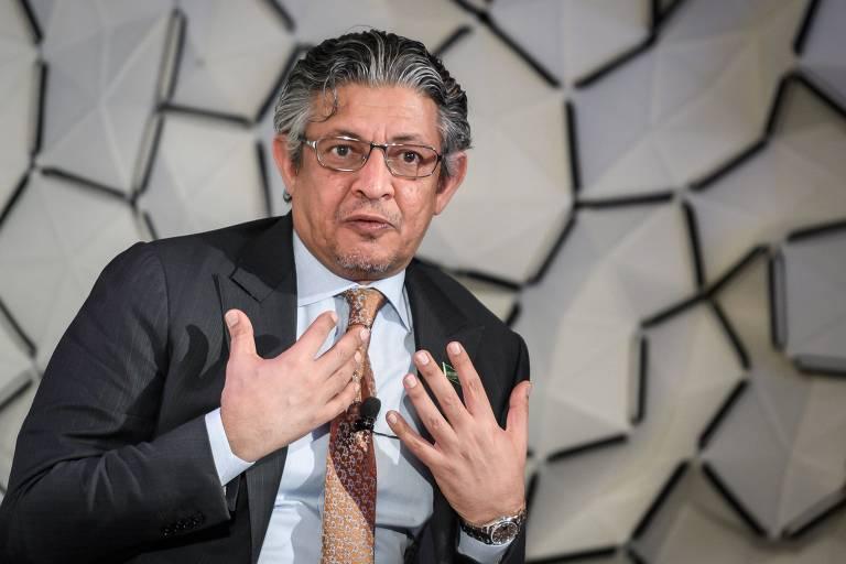 Ministro da Economia e do Planejamento da Arábia Saudita, Mohammed Al Tuwaijri