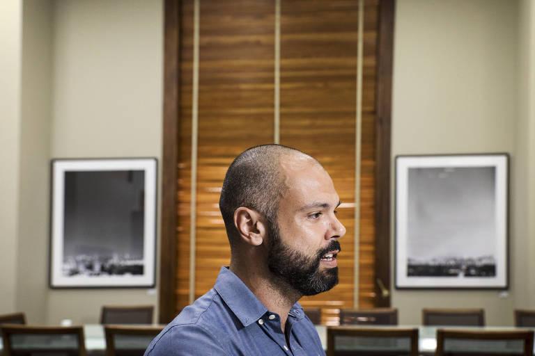 Entrevista com o Prefeito Bruno Covas (PSDB) em seu gabinete na sede da prefeitura de SP