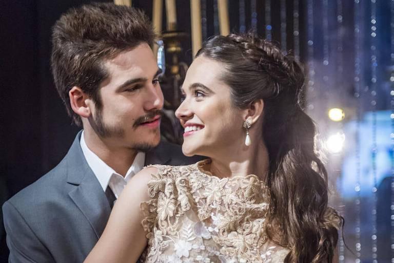 Samuca (Nicolas Prattes) e Marocas (Juliana Paiva) terminarão felizes para sempre