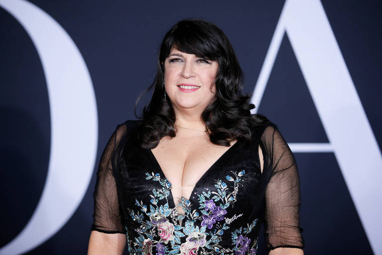 Escritora E.L. James em Los Angeles