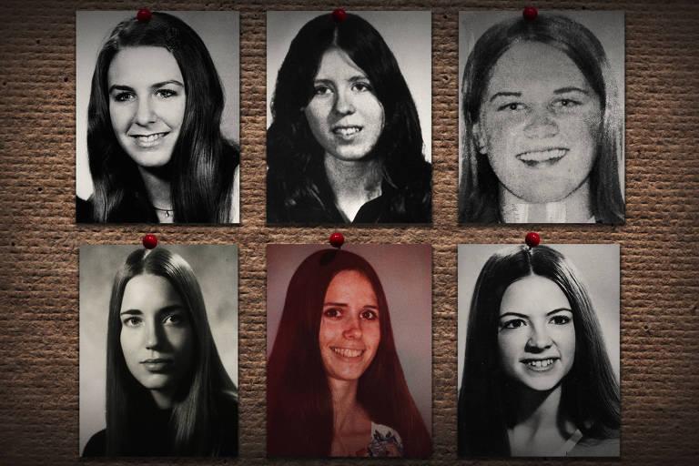 """Imagem exibida no documentário """"Conversando com um Seria Killer: Ted Bundy"""""""