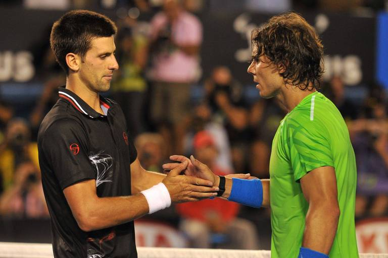 Djokovic e Nadal fizeram jogo com quase seis horas de duração na Austrália em 2012