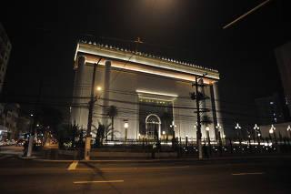Fachada do Templo de Salomão, da  Igreja Universal do Reino de Deus