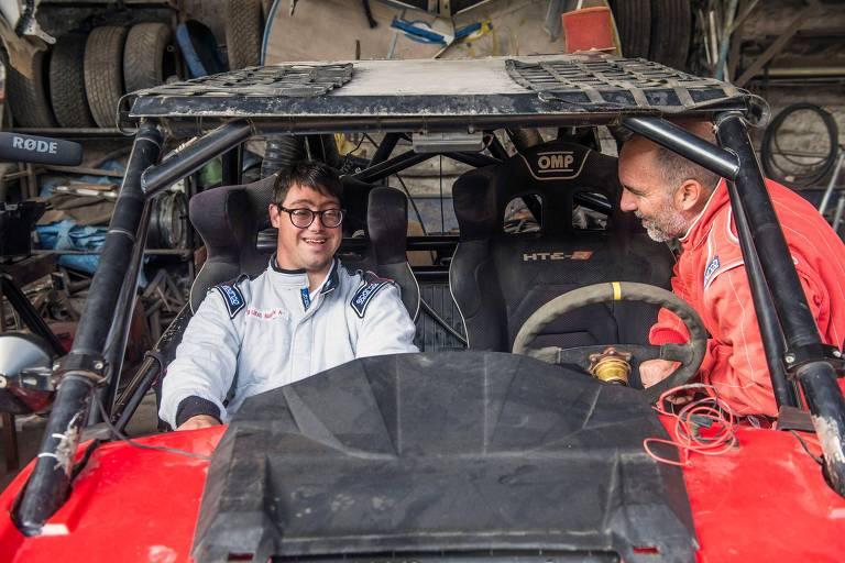 Lucas Barrón no Rali Dakar 2019