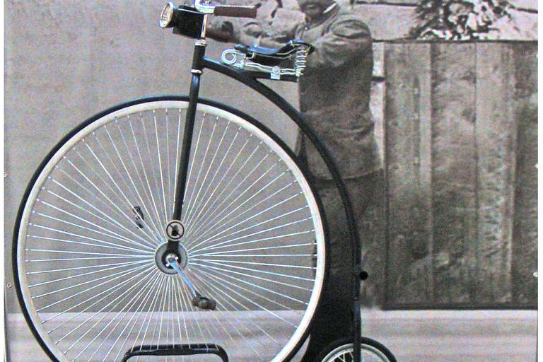 Bicicleta American Star, exposta na mostra 'O Mundo em Duas Rodas', no Shopping Center 3