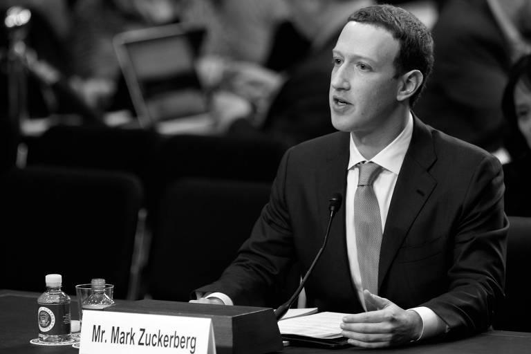 El presidente ejecutivo de Facebook, Mark Zuckerberg, testifica ante el Senado de Estados Unidos