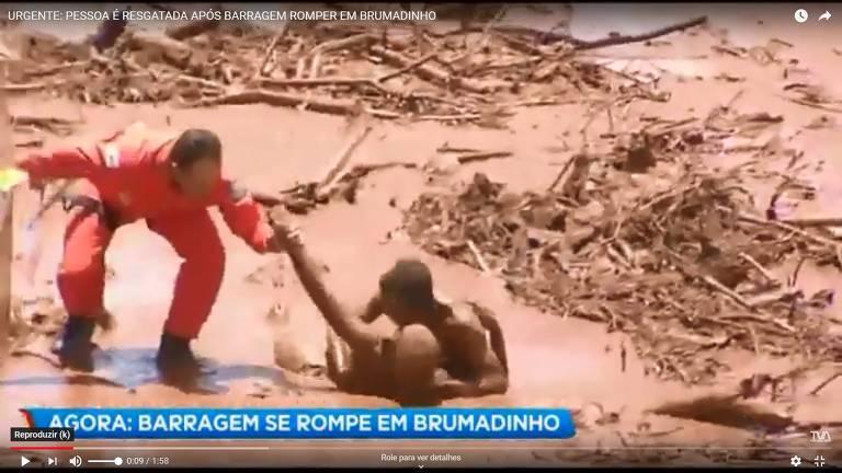 Resgates em Brumadinho