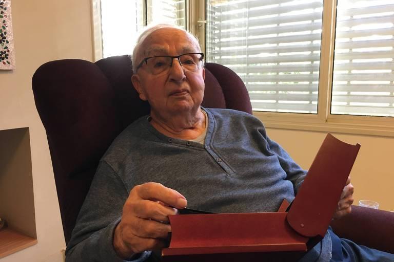 Sobrevivente do Holocausto Jorge Klainman