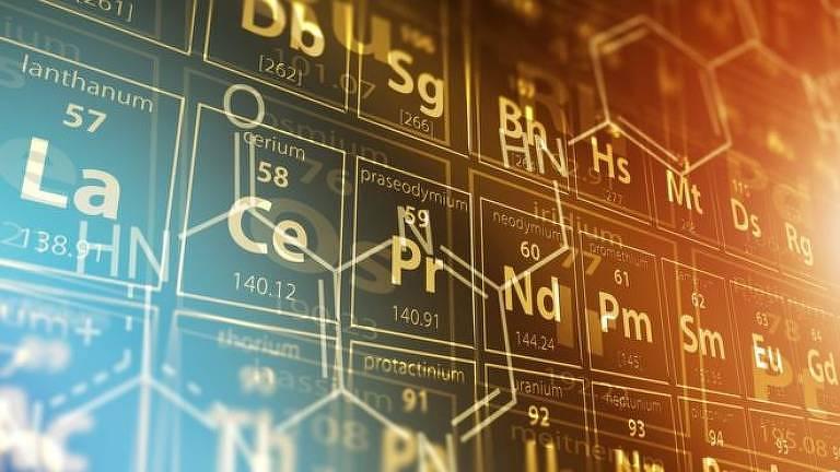 A tabela periódica dos elementos químicos ajudou a sistematizar e a organizar o conhecimento científico