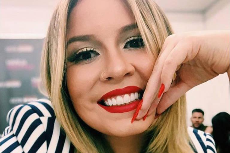 A cantora Marilia Mendonça é artista mulher mais ouvida no Brasil no Spotify