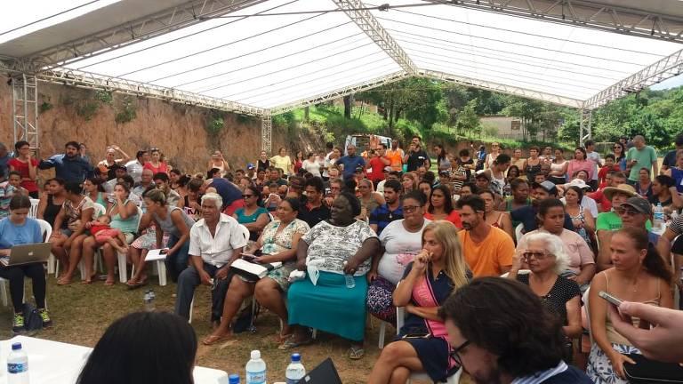 Vale promove assembleia com vítimas de desastre em Brumadinho (MG)