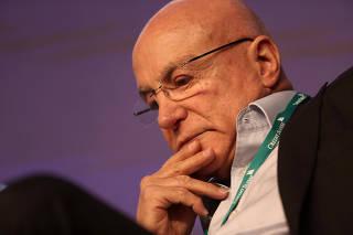 Brazil's Privatization Secretary Mattar speaks at Credit Suisse Latin America conference in Sao Paulo