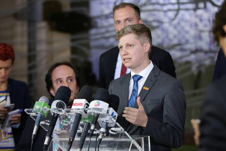 Deputado federal eleito Marcel Van Hatten (Novo-RS)