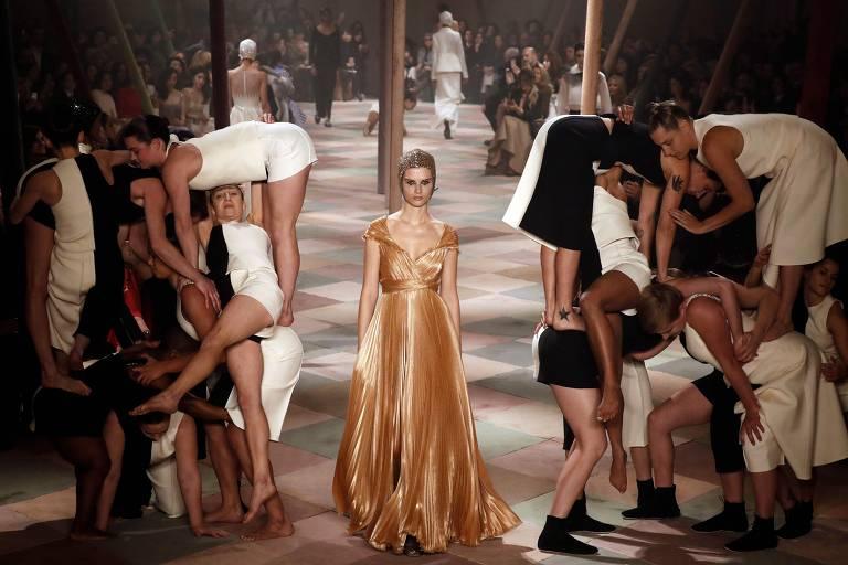 Alta-costura Christian Dior e Valentino - Primavera-verão 2019