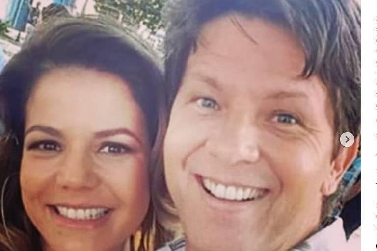 Mario Frias e Nivea Stelmann se encontram pela Globo