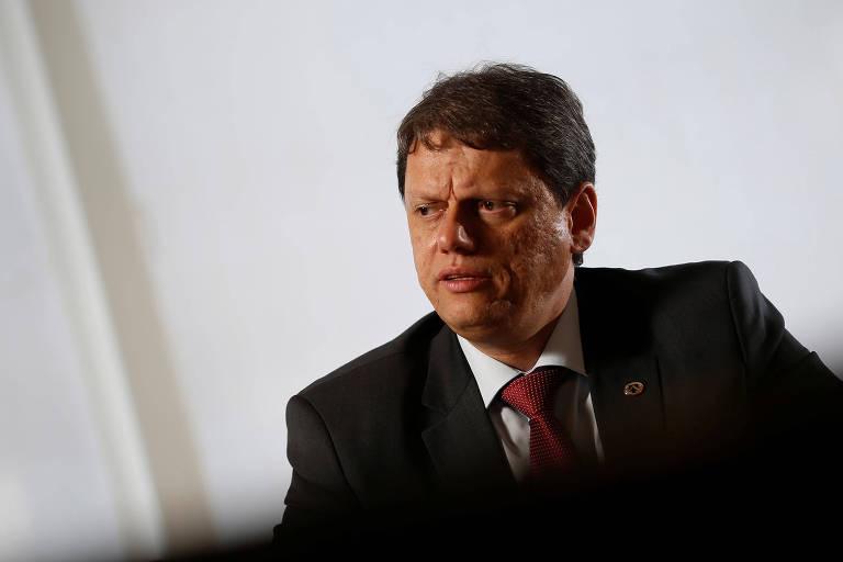 Novo ministro de Infraestrutura,  Tarcísio Gomes de Freitas