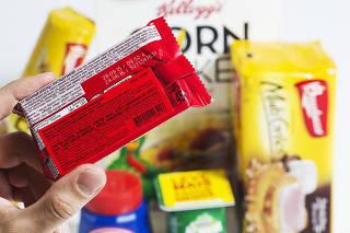 Rotulos de produtos indicam  ingredientes alergicos