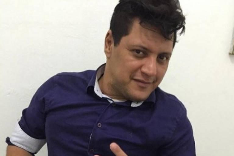 O cantor gospel Wellington Camargo, irmão da dupla Zezé di Camargo e Luciano