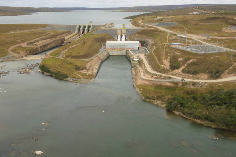 Hidrelétrica de Retiro Baixo, em Minas Gerais
