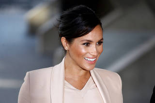 Meghan, Duchess of Sussex visits the National Theatre