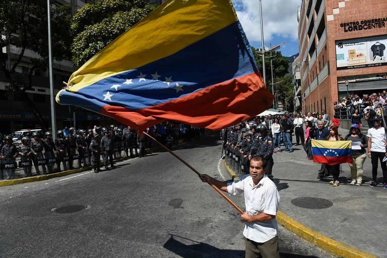Protestos contra Maduro em 30 de janeiro