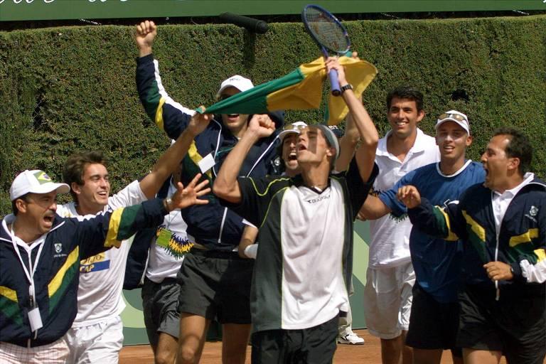 Momentos históricos do Brasil na Copa Davis