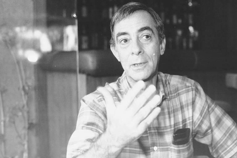 O escritor e dramaturgo Dias Gomes
